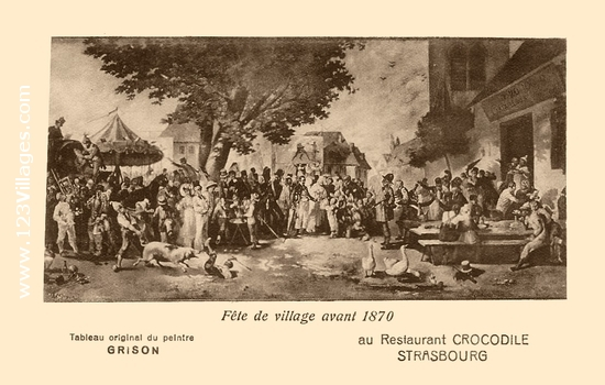 Carte postale de Strasbourg